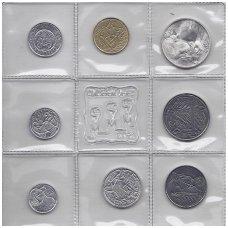 SAN MARINAS 1973 m. 8 monetų komplektas