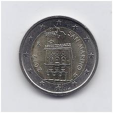 SAN MARINAS 2 EURO 2012 KM # 486 UNC