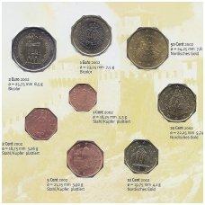 SAN MARINAS 2002 m. euro monetų rinkinys