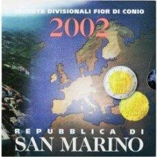 SAN MARINAS 2002 m. OFICIALUS BANKINIS RINKINYS