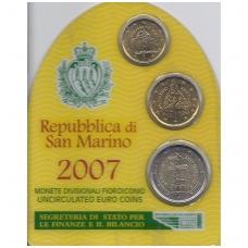 SAN MARINAS 2007 m. mini komplektas