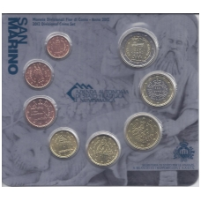 SAN MARINO 2012 EURO COINS OFFICIAL BANK MINT SET