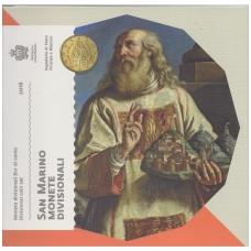 San Marinas 2016 pilnas euro monetų rinkinys ( lankstinukyje )