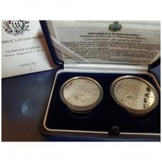 SAN MARINAS 5 ir 10 EURO 2003