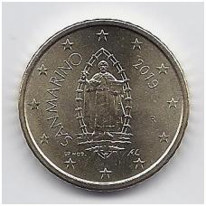 SAN MARINAS 50 EURO CENTS 2019 KM # new UNC