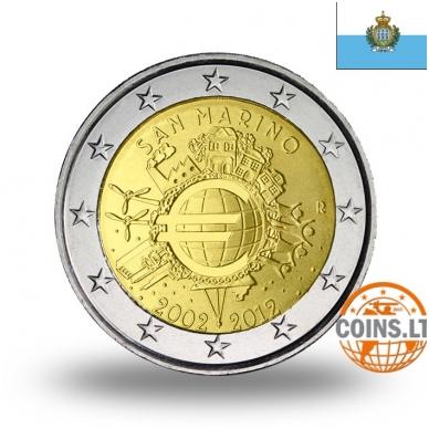 SAN MARINAS 2 EURAI 2012 10M. EURUI (LANKSTINUKYJE)