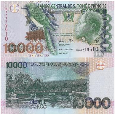 SAN TOMĖ IR PRINSIPĖ 10000 DOBRAS 2013 P # 66d AU