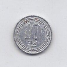 ŠIAURĖS KORĖJA 10 CHON 1959 KM # 3 VF