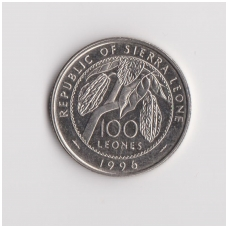 SIERA LEONĖ 100 LEONES 1996 KM # 46 XF