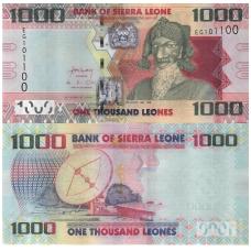 SIERA LEONĖ 1000 LEONES 2013 P # 30 UNC