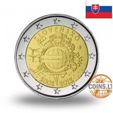 SLOVAKIJA 2 EURAI 2012 10M. EURUI
