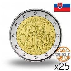 SLOVAKIJA 2 EURAI 2013 MORAVIJOS MISIJA RITINĖLIS (25 vnt.)