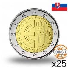 SLOVAKIJA 2 EURAI 2014 10M. EUROPOS SĄJUNGOJE RITINĖLIS (25 vnt.)