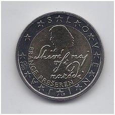 SLOVĖNIJA 2 EURO 2007 KM # 75 UNC