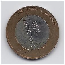 SLOVĖNIJA 500 TOLARJEV 2003 KM # 50 AU