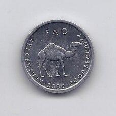 SOMALIS 10 SHILLINGS 2000 KM # 46 UNC FAO