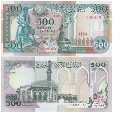 SOMALIS 500 SHILLINGS 1996 P # 36c UNC