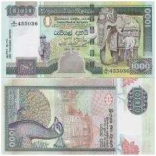 ŠRI LANKA 1000 RUPEES 2004 P # 120c UNC