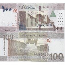 SUDANAS 100 POUNDS 2019 P # new UNC