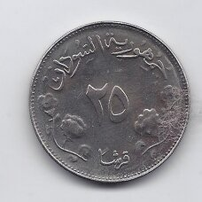 SUDANAS 25 QIRSH 1968 KM # 38  UNC FAO