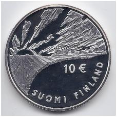 SUOMIJA 10 EURO 2006 KM # 124 SNELLMAN