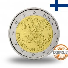 FINLAND 2 EURO 2005 UNITED NATIONS