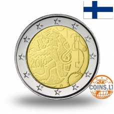FINLAND 2 EURO 2010 150TH CURRENCY ANNIVERSARY