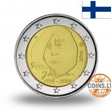 FINLAND 2 EURO 2014 TOVE JANSSON