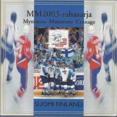 SUOMIJA 2003 m. EURO MONETŲ RINKINYS (LEDO RITULYS)