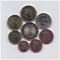 SUOMIJA 2014 m. euro monetų rinkinys