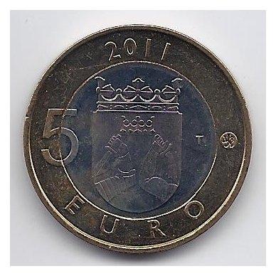 SUOMIJA 5 EURO 2011 KM # 159 KARJALA 2