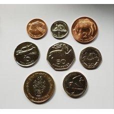 ŠV. ELENA ir DANGUN ŽENGIMO SALA 8 monetų komplektas 1997 - 2006 m.