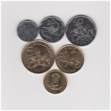 SVAZILENDAS 2015 m. 6 monetų rinkinukas