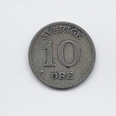 ŠVEDIJA 10 ORE 1909 KM # 780 VF