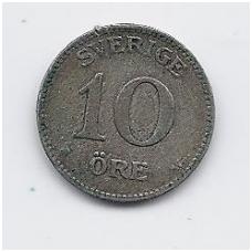 ŠVEDIJA 10 ORE 1917 KM # 780 VF