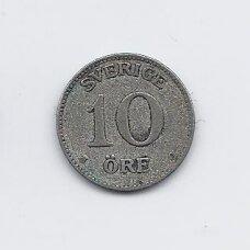ŠVEDIJA 10 ORE 1928 KM # 780 VF