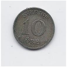 ŠVEDIJA 10 ORE 1933 KM # 780 VF