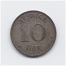 ŠVEDIJA 10 ORE 1934 KM # 780 VF