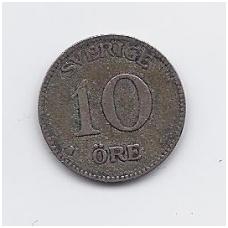 ŠVEDIJA 10 ORE 1935 KM # 780 VF