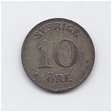 ŠVEDIJA 10 ORE 1936 KM # 780 VF