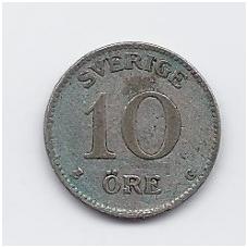 ŠVEDIJA 10 ORE 1938 KM # 780 VF