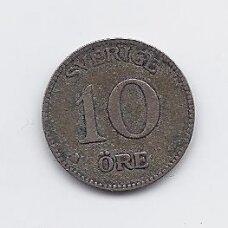 ŠVEDIJA 10 ORE 1939 KM # 780 VF
