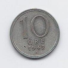 ŠVEDIJA 10 ORE 1942 KM # 813 VF