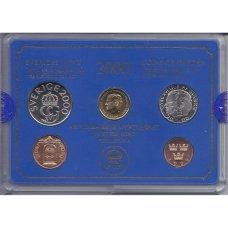 ŠVEDIJA 2000 m. OFICIALUS BANKO RINKINYS