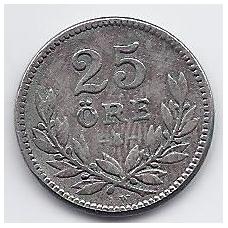 ŠVEDIJA 25 ORE 1919 KM # 785 VF