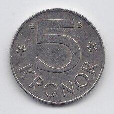 ŠVEDIJA 5 KRONOR 1995 KM # 853a VF