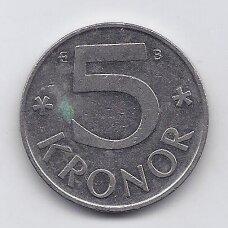 ŠVEDIJA 5 KRONOR 1998 KM # 853a VF