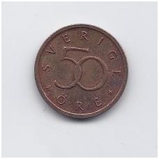ŠVEDIJA 50 ORE 1999 KM # 878 VF/XF