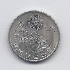 THAILAND 1 BAHT 1982 Y # 157 UNC FAO