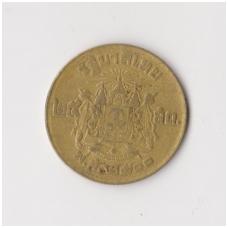 TAILANDAS 25 SATANG 1957 Y # 80 VF